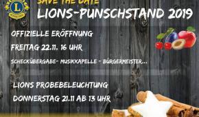 Lions Punschstand 2019