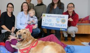 Spendenübergabe an das Institut Hartheim